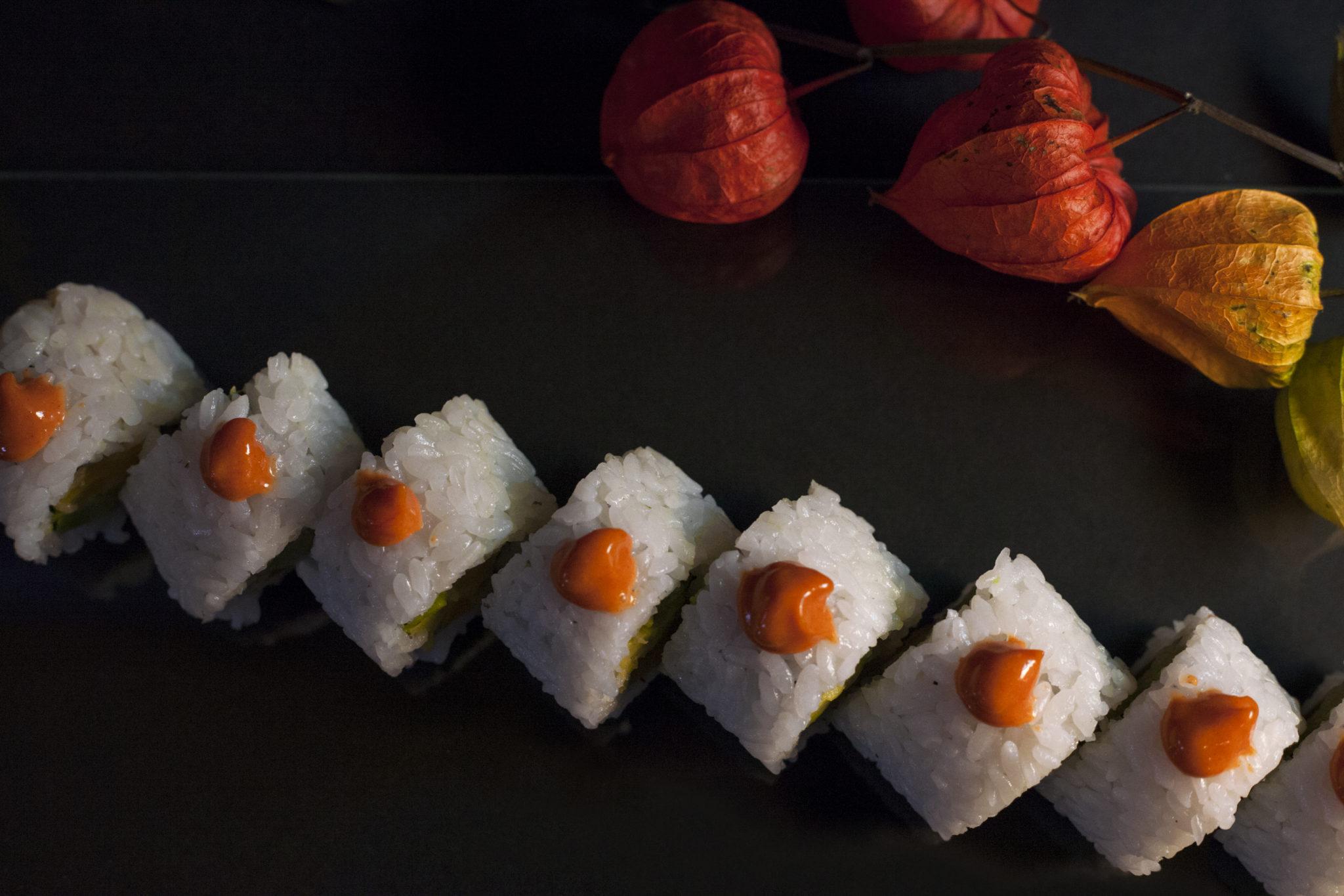 Sushi obědové menu